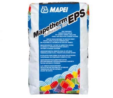 Лепилна и шпакловъчна маса MAPEI Mapetherm Adhesive for EPS - 25кг