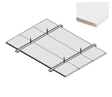 4 бр. Пожароустойчива система KNAUF Ceiling Solutions F30 Uno Sahara - 40/600/1400 мм