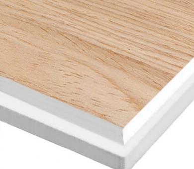 10 бр. Минералфазер Пана KNAUF Armstrong Ceiling Solutions Varioline Wood Oak Tegular 15 паднал борд - 19/600/600 мм
