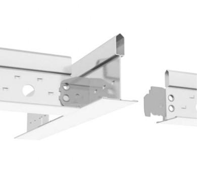Влагоустойчив бял Носещ Профил Armstrong Prelude T24 CR TL+ Exposed 24mm Grid System White - 3600 мм