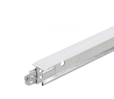 Бял напречен Т-Профил ATENA Easy Strong 15mm - 600 мм