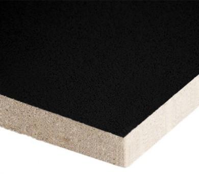 10 бр. Минералфазер Пана KNAUF Armstrong Ceiling Solutions Alpha Color Black Board прав борд - 19/600/600 мм