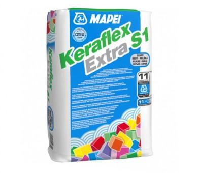 Лепило за плочки и камъни MAPEI Keraflex Extra S1 - 25кг