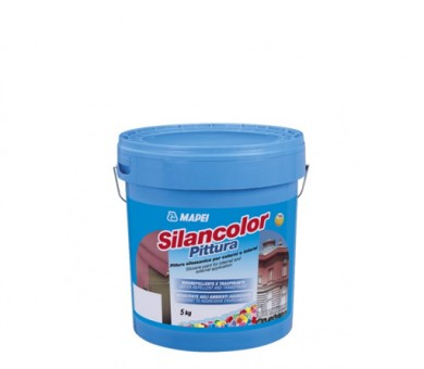 Екстериорна фасадна боя MAPEI Silancolor Paint - 5кг