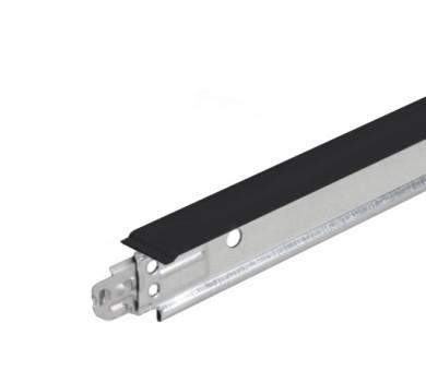 Черен напречен Т-Профил ATENA Easy Strong 15mm - 600 мм