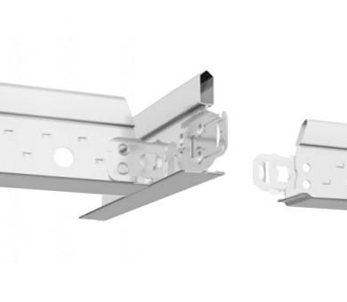 Сребрист Носещ Профил Armstrong Prelude T15 Exposed 15mm Grid System Silver RAL 9006 - 3600 мм