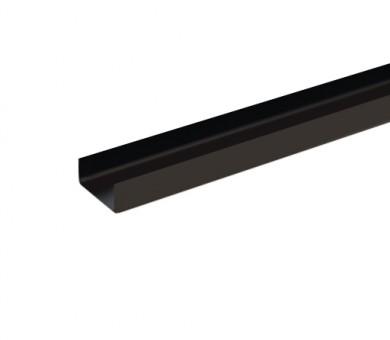 UW Черен Профил антикорозионна защита Кнауф UW 75/40 Black System Profile Knauf - 4000 мм