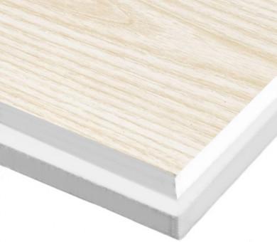 10 бр. Минералфазер Пана KNAUF Armstrong Ceiling Solutions Varioline Wood Ash Tegular 15 паднал борд - 19/600/600 мм