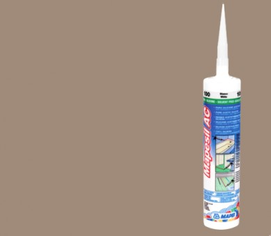 Силикон MAPEI Mapesil AC 310 мл - 134 Silk (12 бр. в кашон)