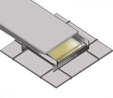 8 бр. Огнезащитна кутия за таван KNAUF Ceiling Solutions Armstrong Fire Box - 19/600/1200 мм