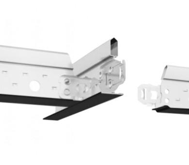 Черен Напречен Профил Armstrong Prelude T15 XL2 Exposed 15mm Grid System Black - 600 мм