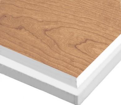 10 бр. Минералфазер Пана KNAUF Armstrong Ceiling Solutions Varioline Wood Cherry (US) Tegular 15 паднал борд - 19/600/600 мм