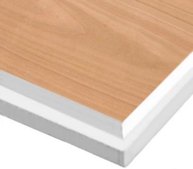 10 бр. Минералфазер Пана KNAUF Armstrong Ceiling Solutions Varioline Wood Cherry (EU) Tegular 15 паднал борд - 19/600/600 мм