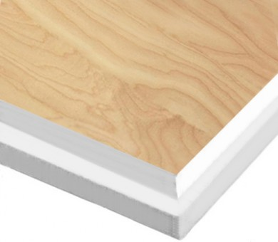10 бр. Минералфазер Пана KNAUF Armstrong Ceiling Solutions Varioline Wood Birch Tegular 15 паднал борд - 19/600/600 мм