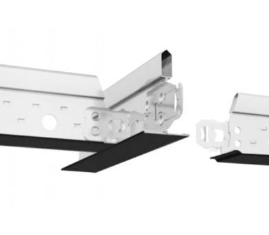 Черен Напречен Профил Armstrong Prelude T24 XL2 Exposed 24mm Grid System Black - 600 мм