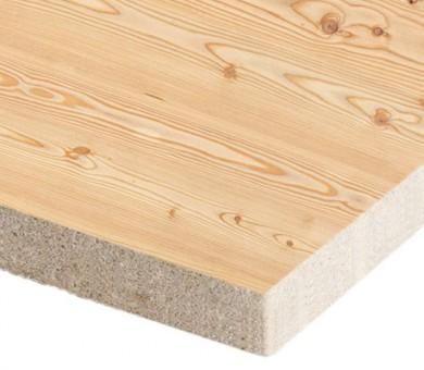 10 бр. Минералфазер Пана KNAUF Armstrong Ceiling Solutions Varioline Wood Larch Board прав борд - 19/600/600 мм