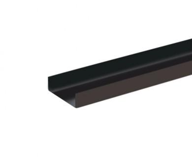 UW Черен Профил антикорозионна защита Кнауф UW 100/40 Black System Profile Knauf - 4000 мм