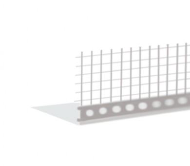 Универсален PVC профил с армираща мрежа Knauf - 2м