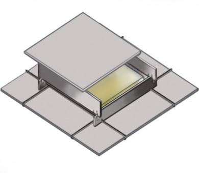 4 бр. Огнезащитна кутия за таван KNAUF Ceiling Solutions Armstrong Fire Box - 40/600/600 мм