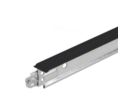 Черен напречен Т-Профил ATENA Easy Strong 15mm - 1200 мм