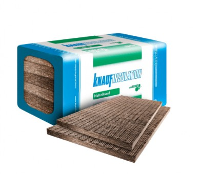 Каменна вата Knauf Insulation NaturBoard POD PLUS плочи - 20/600/1000 мм