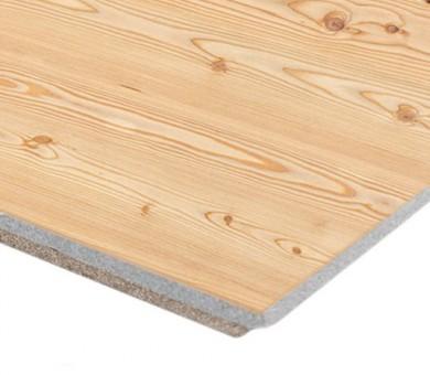 8 бр. Минерална вата Пана KNAUF Armstrong Ceiling Solutions Varioline Wood Larch Vector висящ борд - 24/600/600 мм