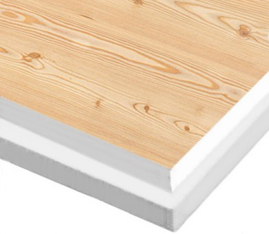 10 бр. Минералфазер Пана KNAUF Armstrong Ceiling Solutions Varioline Wood Larch Tegular 15 паднал борд - 19/600/600 мм