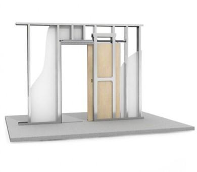 Система за плъзгащи врати Knauf Pocket Kit Überhoch