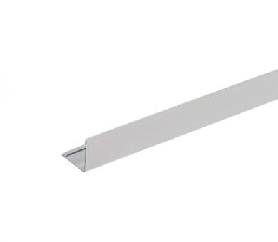 Сребрист Окрайчващ L-Профил KNAUF Armstrong Ceiling Solutions L Perimeter 24mm Grid System Silver RAL 9006 - 3000 мм