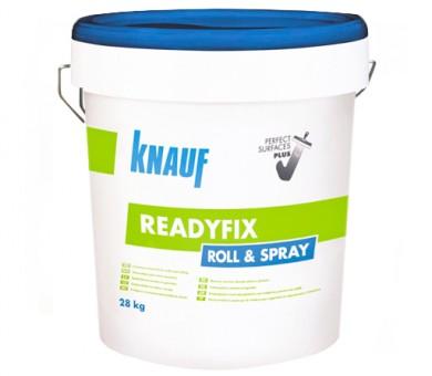 Универсален готов фугопълнител и шпакловка KNAUF READYFIX Roll & Spray - 28кг