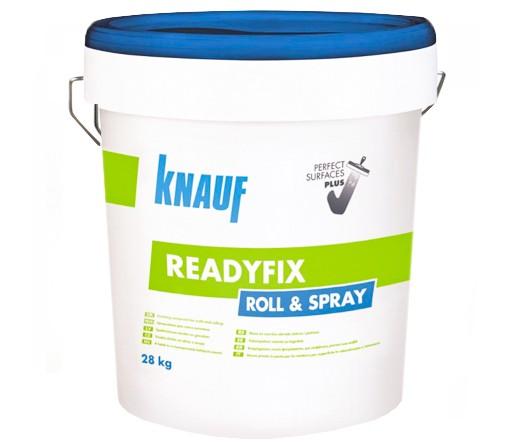 Универсален готов фугопълнител и шпакловка KNAUF READYFIX Roll&Spray - 28кг