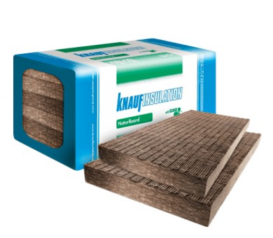 Каменна вата Knauf Insulation NaturBoard VENTI плочи - 80/600/1000 мм