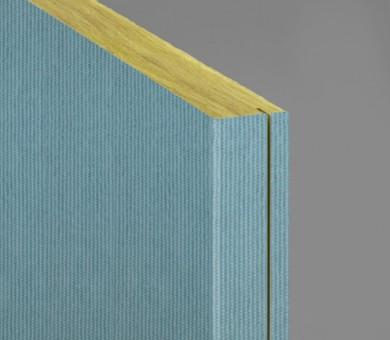 Стенно пано минерална вата Ecophon Akusto Wall C / Texona Poppy Seed - 40/600/2700 мм