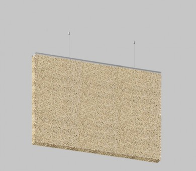 Висящо пано от дървесни влакна KNAUF HERADESIGN Baffle Basic Superfine - 30/600/1200 мм