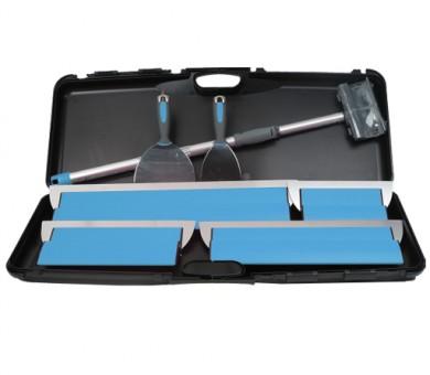 Инструменти за шпакловане в малък куфар Knauf