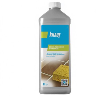 Препарат за почистване на плочки след фугиране Knauf Zementschleier-Entferner - 1л