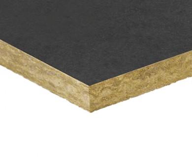 Каменна вата с едностранен черен воал Rockwool Airrock ND FB1 - 100/600/1000 мм