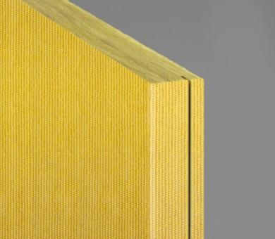 Стенно пано минерална вата Ecophon Akusto Wall C / Texona Mustard - 40/600/2700 мм