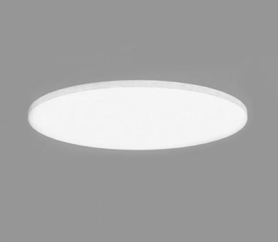 Кръгло висящо пано минерална вата Ecophon Solo Circle White Fros - 40/Ø1200 мм