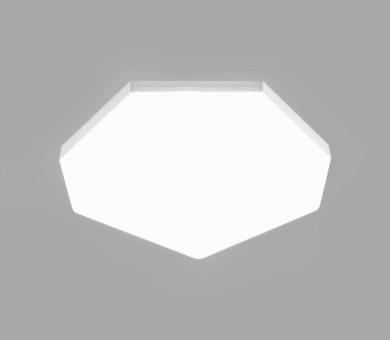 Висящо пано минерална вата Ecophon Solo Freedom Heptagon White Fros - 40/1168/1198 мм