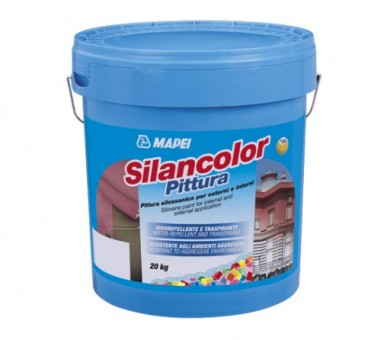 Екстериорна фасадна боя MAPEI Silancolor Paint - 20кг