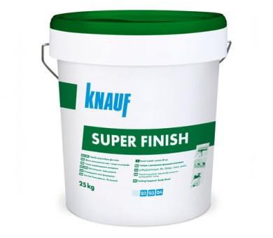 Универсална готова шпакловъчна и фугираща смес Knauf Super Finish - 25кг