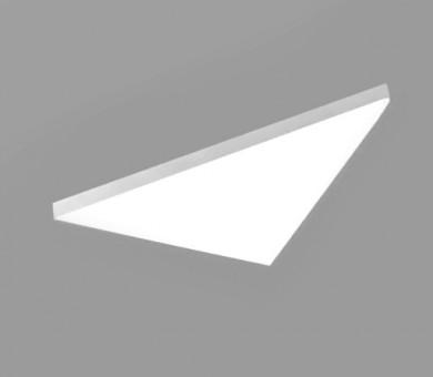 Висящо пано минерална вата Ecophon Solo Freedom Triangle White Fros - 40/1039/1200 мм