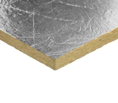 Каменна вата за изолация на кoмини Knauf Insulation DP10 Alu плочи - 30/600/1000 мм