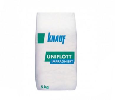 Фугираща и шпакловъчна маса Knauf Uniflott Imprägniert 5кг