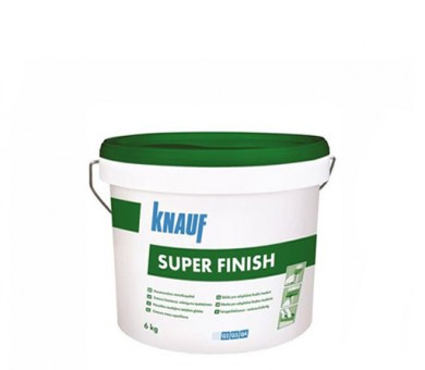 Универсална готова шпакловъчна и фугираща смес Knauf Super Finish - 6кг