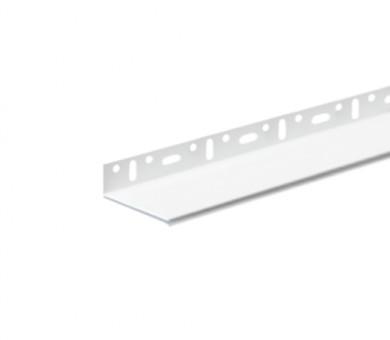 Цокълен PVC профил Knauf с регулируема ширина - 2м