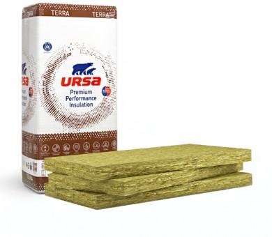 Стъклена вата URSA TERRA 68Ph - 50/600/1250 мм