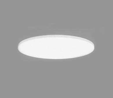 Кръгло висящо пано минерална вата Ecophon Solo Circle White Fros - 40/Ø800 мм