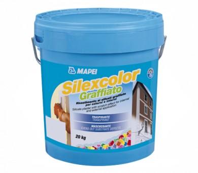 Влачена мазилка MAPEI Silexcolor Graffiato 1,8мм - 20кг